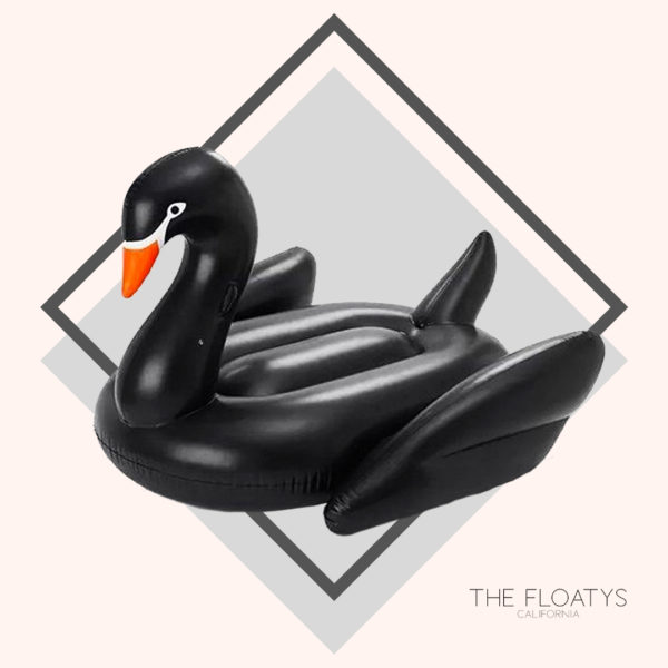 Giant Black Swan Float 1