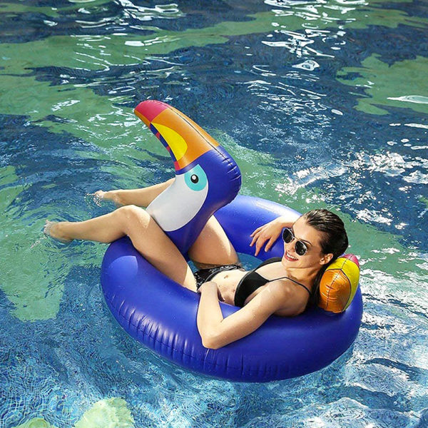 Blue Toucan Ring Float 2