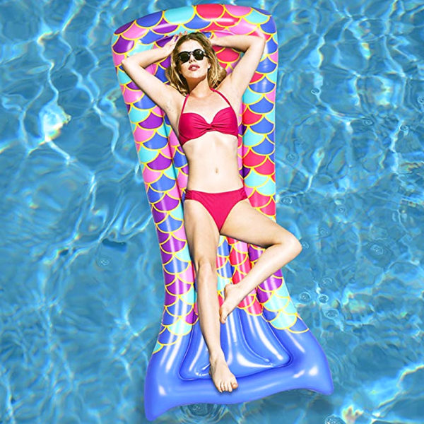 Mermaid Tail Float Lounger 2
