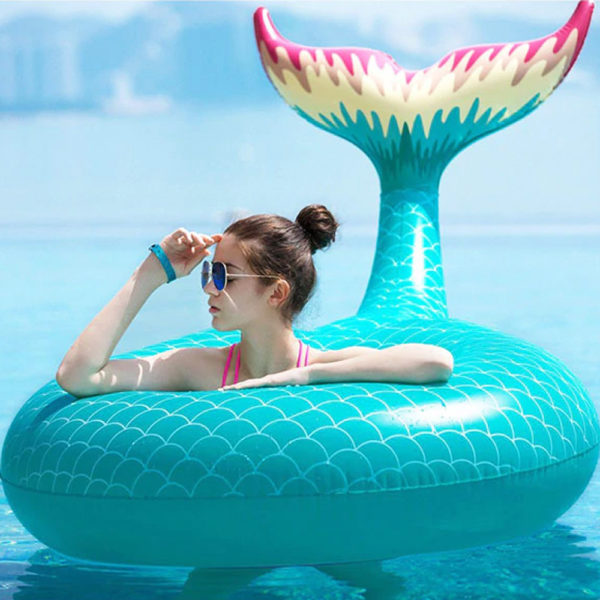 Giant Mermaid Tail Ring Float 2