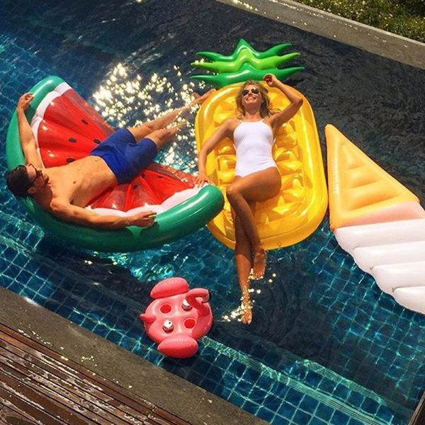 Pineapple Float Lounger 2