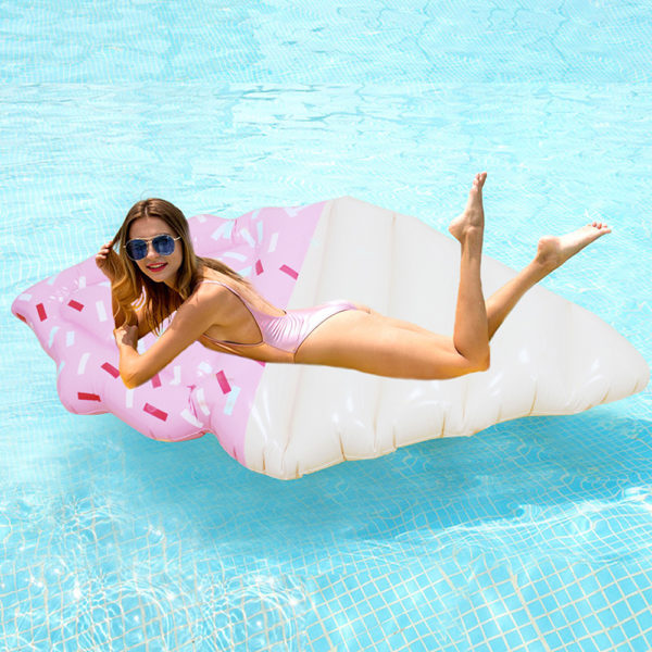 Pink Sprinkles Ice Cream Float Lounger 2