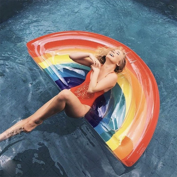 Rainbow Float Lounger 2