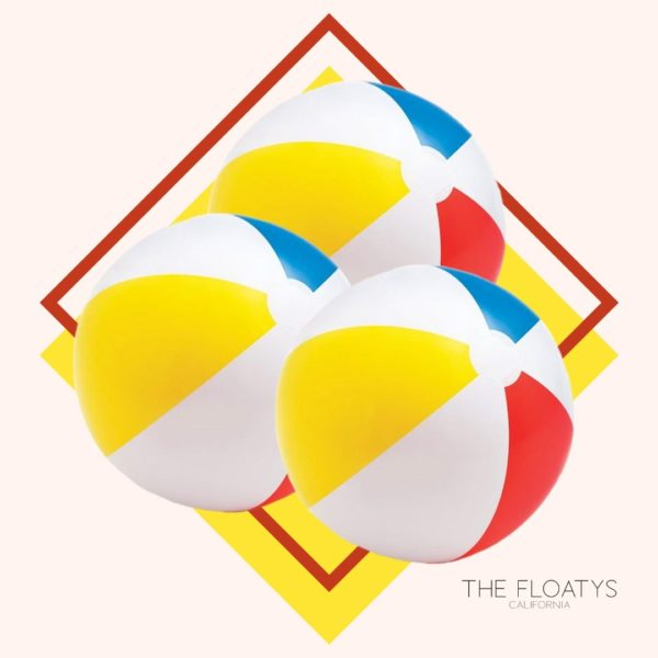 Classic Inflatable Beach Balls (3-Pack) 1