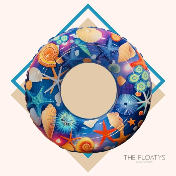 Kids Ocean Print Ring Float 1