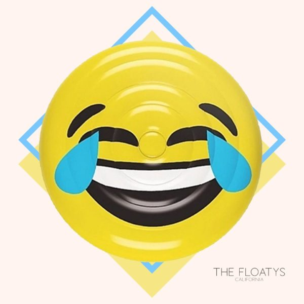 Laugh Emoji Pool Float Lounger 1
