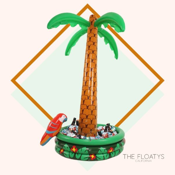 Giant Inflatable Palm Tree Ice Bucket Cooler 1