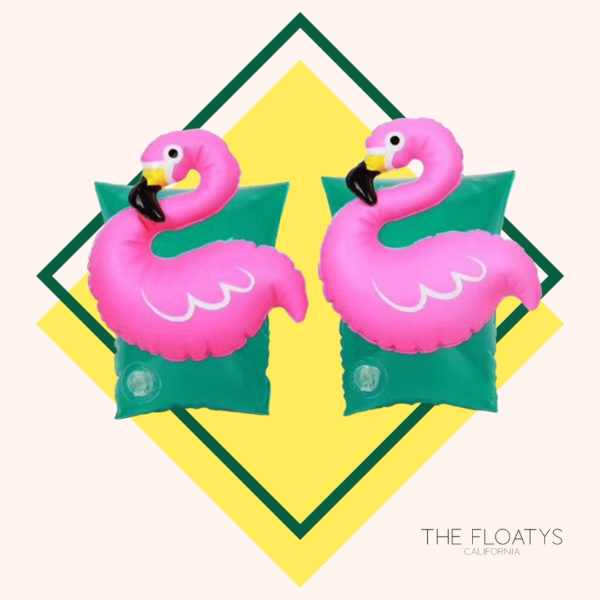 Kids Flamingo Arm Floaties 1