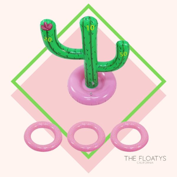 Inflatable Cactus Ring Toss Float 1