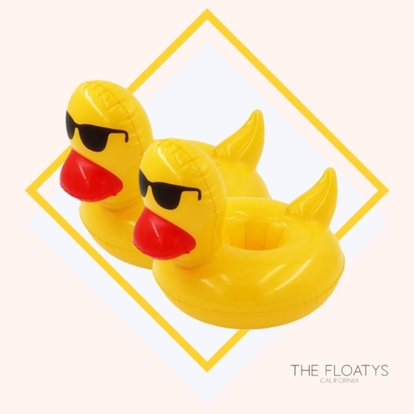 Inflatable Duck Drink Holders (2-Pack) 1