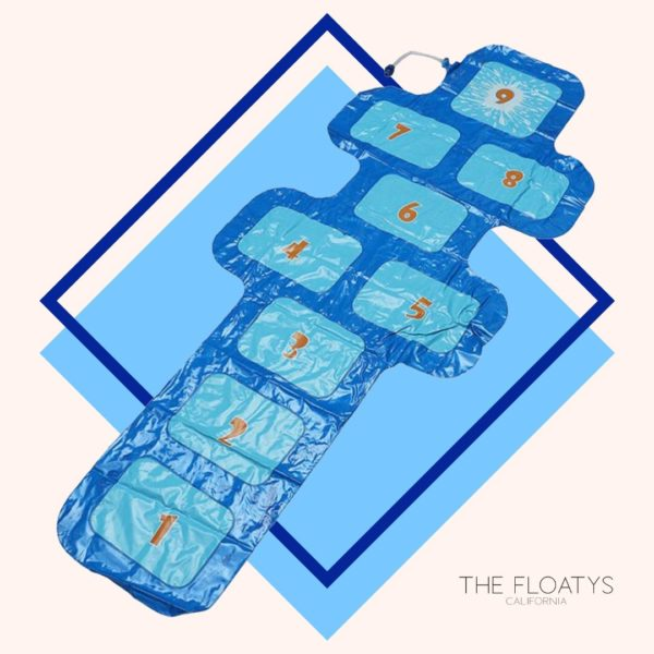Giant Inflatable Hopscotch Mat Sprinkler 1