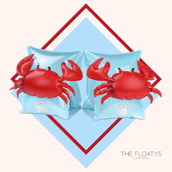 Kids Red Crab Arm Floaties 1