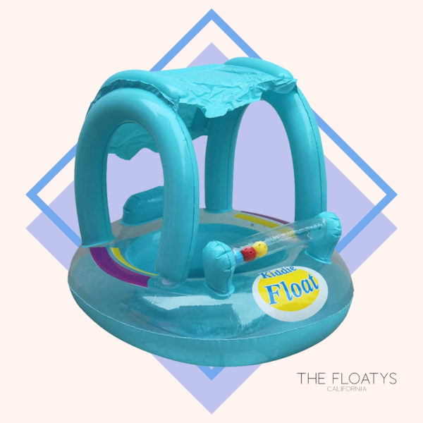 Baby Blue Kiddie Sunshade Float 1