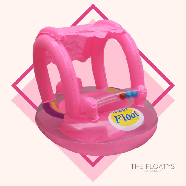 Baby Pink Kiddie Sunshade Float 1