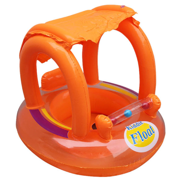 Baby Orange Kiddie Sunshade Float 2