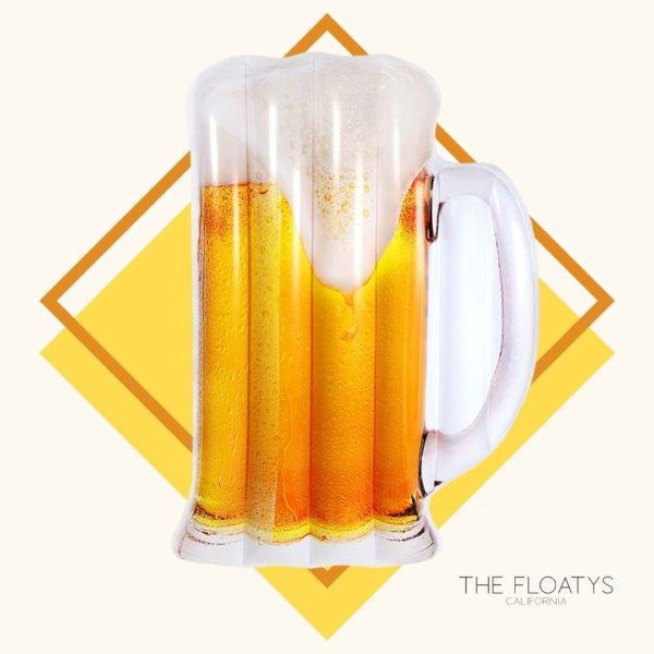 Beer Mug Float Lounger 1