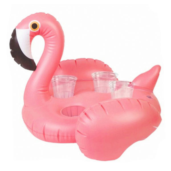 Big Inflatable Flamingo Drink Holder 2