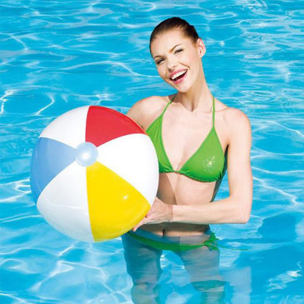 Classic Inflatable Beach Balls (3-Pack) 2