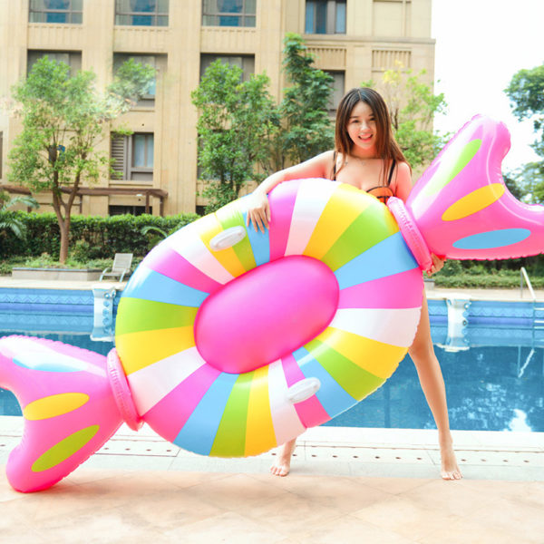 Giant Candy Float Lounger 1