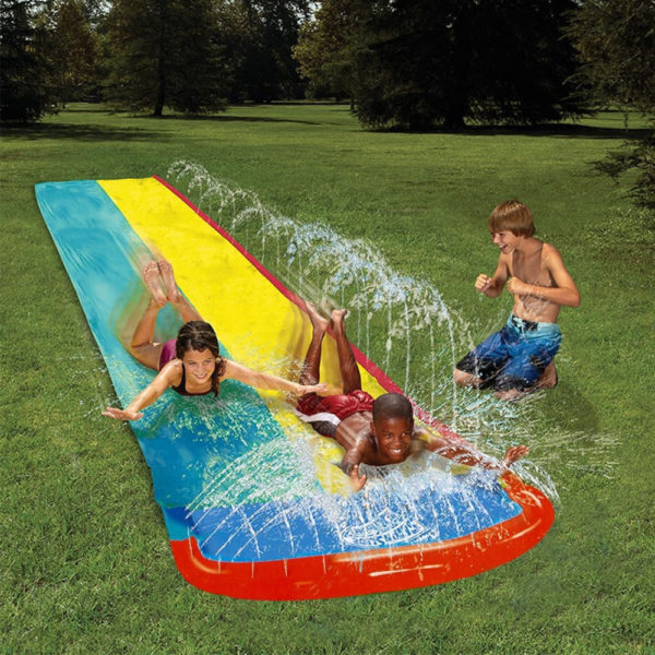 Giant Double Water Slide 1