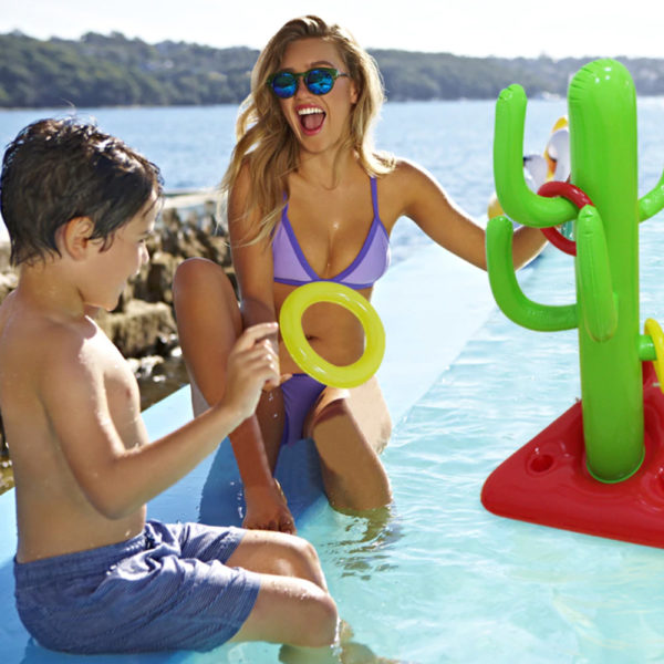 Giant Inflatable Cactus Ring Toss Float 2