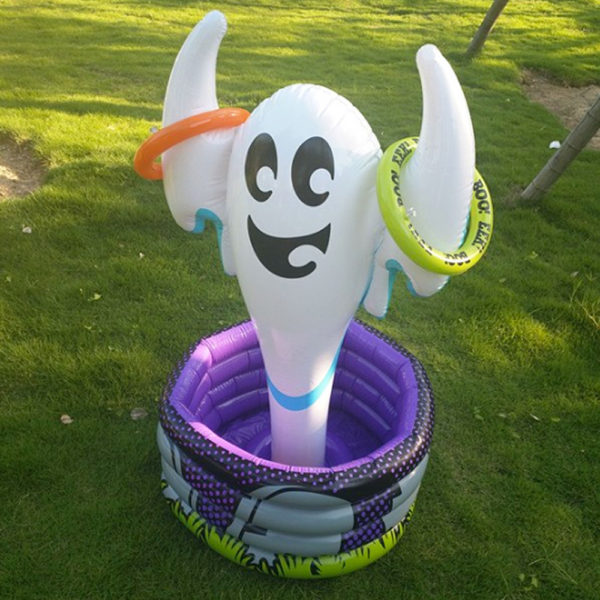 Giant Inflatable Ghost Ice Bucket Cooler 1