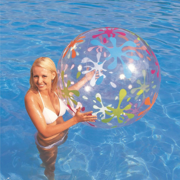 Giant Inflatable Paint Splatter Print Beach Ball 1
