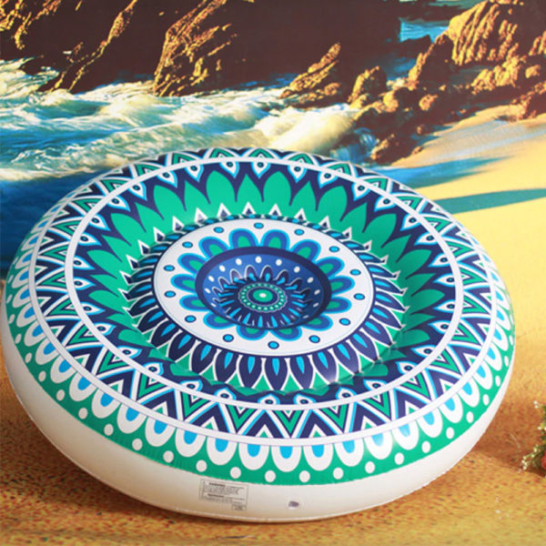 Giant Mandala Float Lounger 1