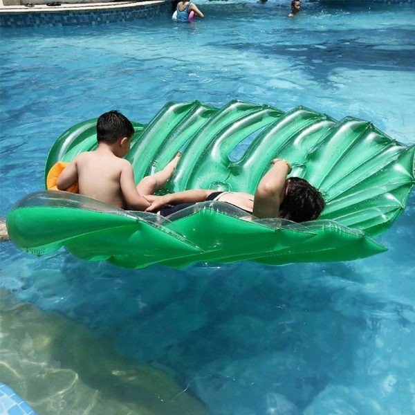 Giant Palm Tree Leaf Float Lounger 2