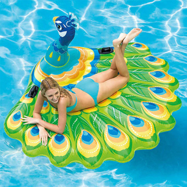 Giant Peacock Float Lounger 2