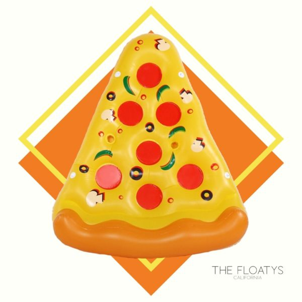 Giant Pizza Float Lounger 1