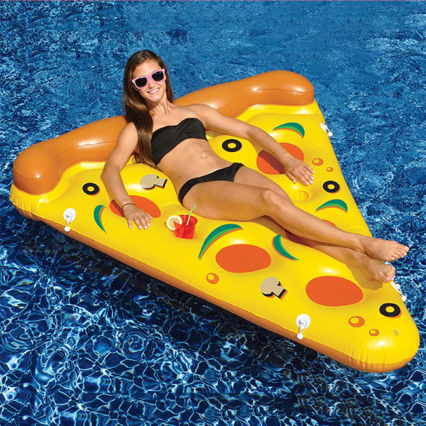 Giant Pizza Float Lounger 2