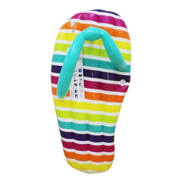 Giant Rainbow Slippers Float Lounger 2