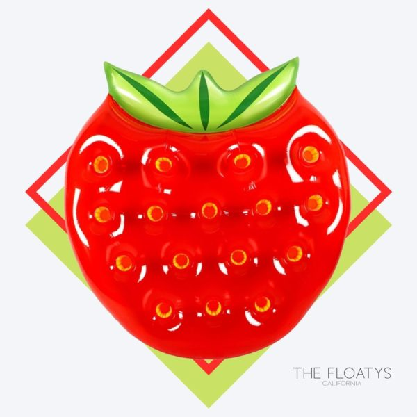 Giant Strawberry Float Lounger 1