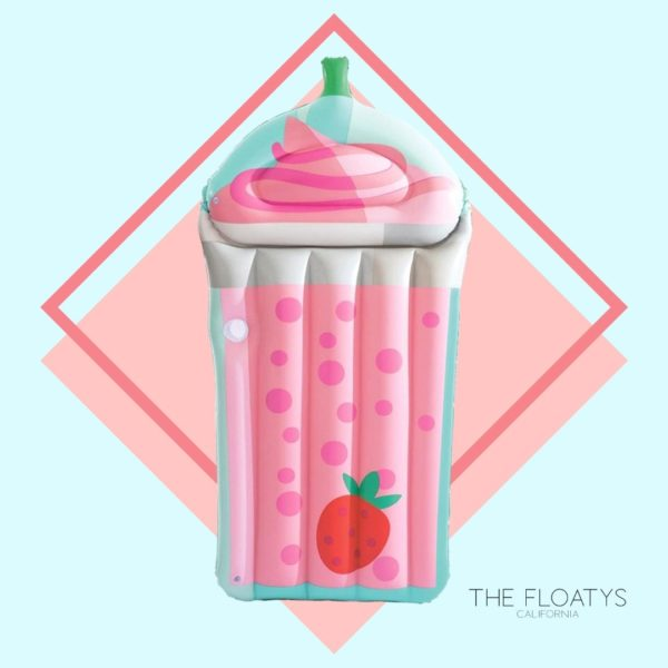 Giant Strawberry Milkshake Float Lounger 1