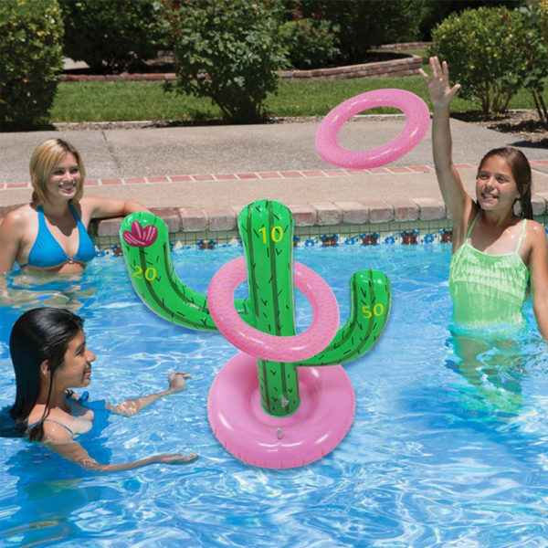 Inflatable Cactus Ring Toss Float 2