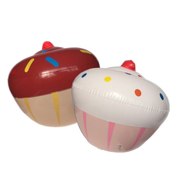 Inflatable Cupcake Pool Floats (2-Pack) 2
