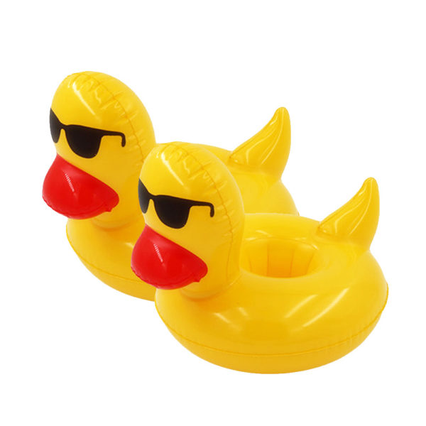 Inflatable Duck Drink Holders (2-Pack) 2