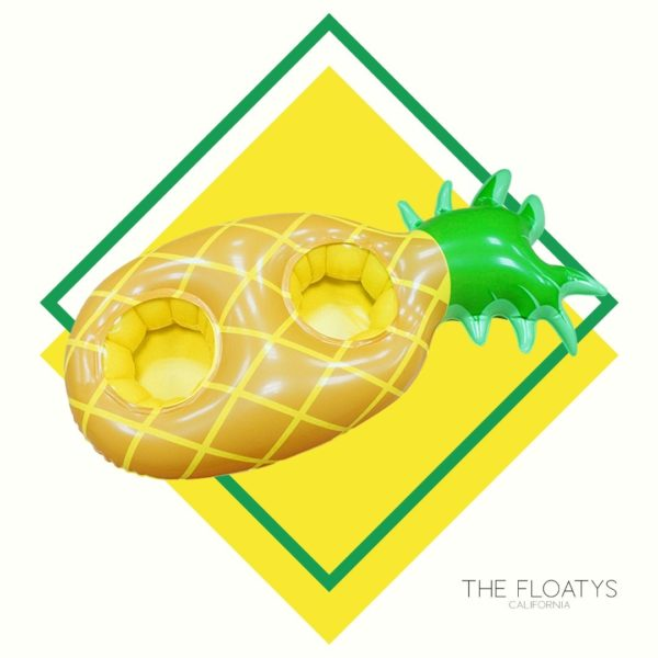 Inflatable Pineapple Double Drink Holder 1