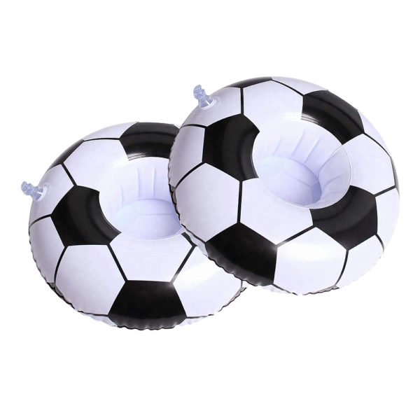 Inflatable Soccer Ball Drink Holders (2-Pack) 2