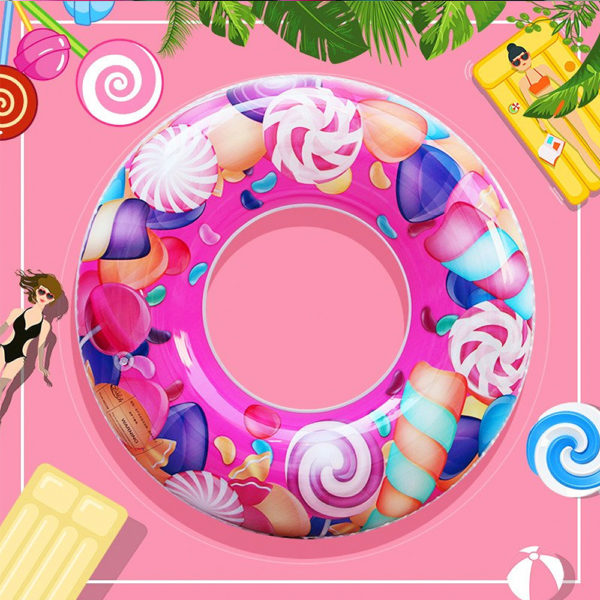 Kids Candy Print Ring Float 1
