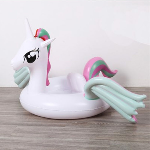 Kids Pastel Pegasus Unicorn Float 2