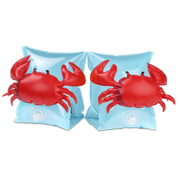 Kids Red Crab Arm Floaties 2