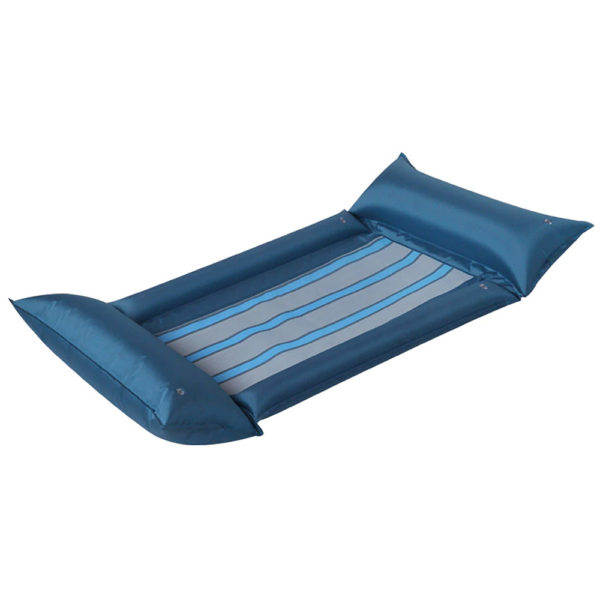 Teal Blue Mesh Hammock Float Lounger 2