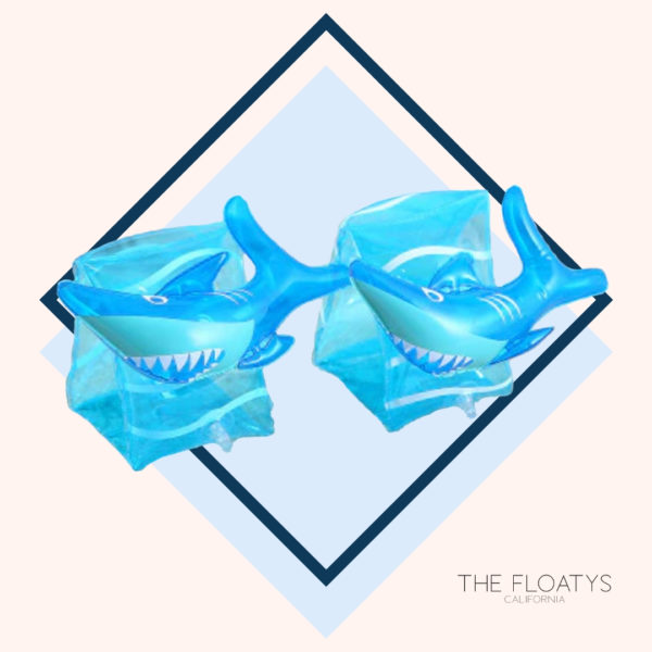Kids Shark Arm Floaties 1
