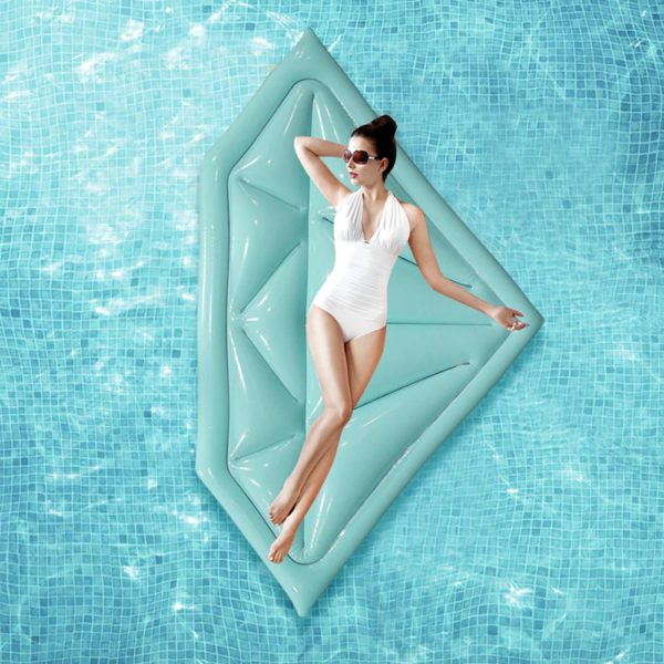 Giant Diamond Float Lounger 1