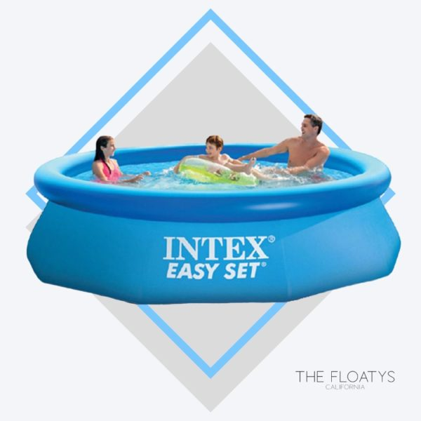 Intex Big Blue Inflatable Pool 1