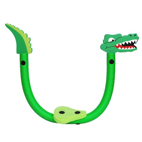 Kids Crocodile Pool Noodle Chair 2