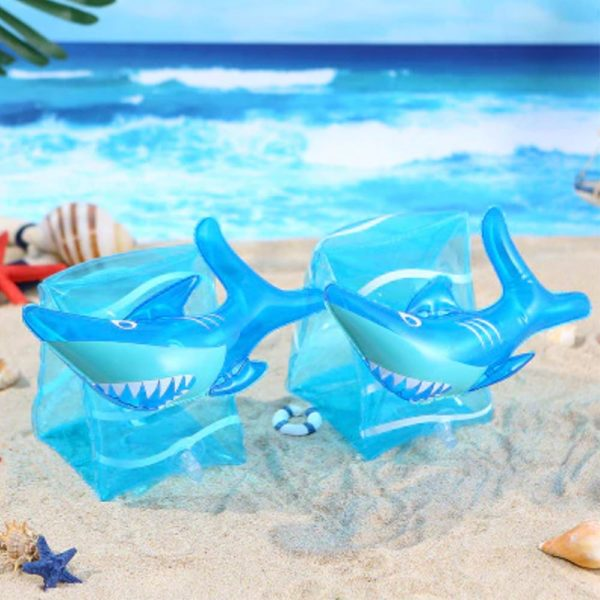 Kids Shark Arm Floaties 2