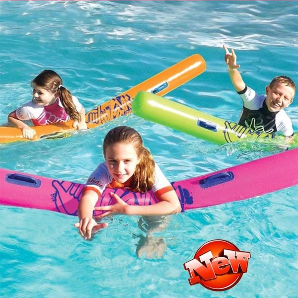 Neon Orange Pool Noodle 2